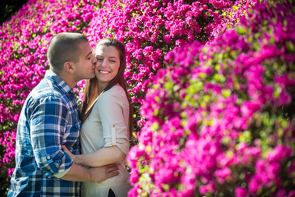 Amy + Mike -Maymont Engagement