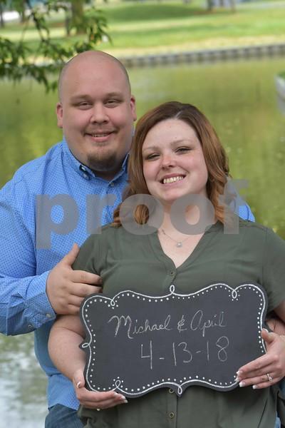 April & Michael's Engagement Pics