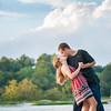 Ariel & Eric's Engagement Session at Belle Isle Richmond VA