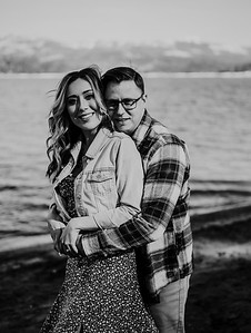 Alexandria Vail Photography Shaver Lake Engagement Session  BW006