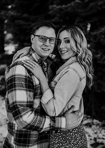 Alexandria Vail Photography Shaver Lake Engagement Session  BW001