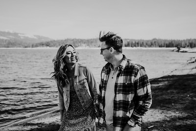 Alexandria Vail Photography Shaver Lake Engagement Session  BW013
