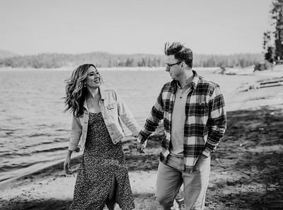 Alexandria Vail Photography Shaver Lake Engagement Session  BW012
