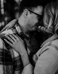 Alexandria Vail Photography Shaver Lake Engagement Session  BW003