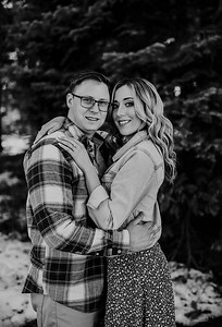Alexandria Vail Photography Shaver Lake Engagement Session  BW000