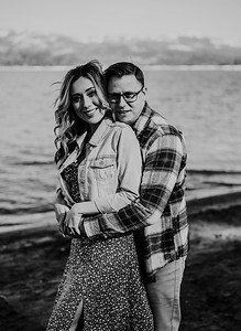 Alexandria Vail Photography Shaver Lake Engagement Session  BW005