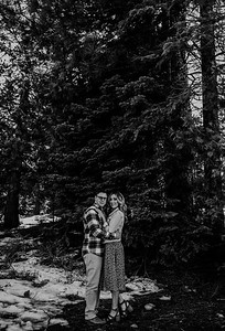 Alexandria Vail Photography Shaver Lake Engagement Session  BW004