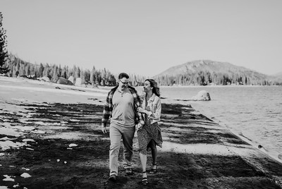 Alexandria Vail Photography Shaver Lake Engagement Session  BW014