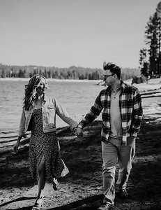 Alexandria Vail Photography Shaver Lake Engagement Session  BW011