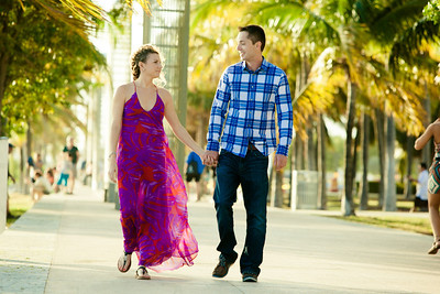 Ben and Melissa South Beach Engagement photos-123