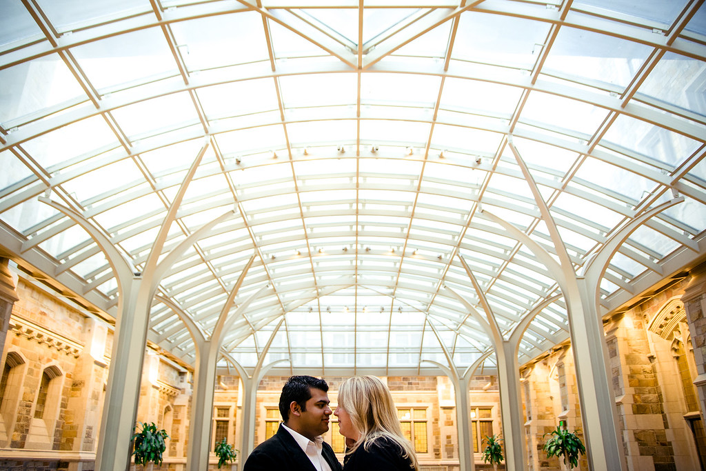 brit + raj | engagement | downtown ann arbor
