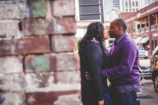 Calvin and Derria's Engagement Photos