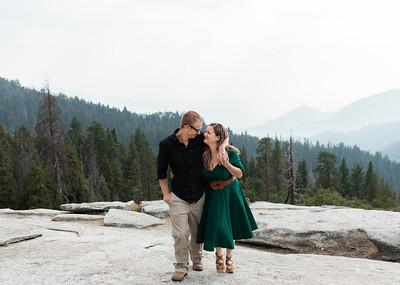 Alexandria Vail Photography Sequoias Engagement C M025