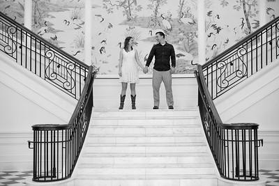 Carrie and David's Regent University Va Beach Engagement