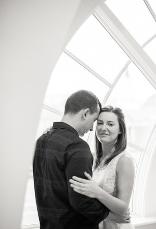 Carrie and David's Regent University Va Beach Engagement