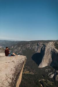 Chris   JeanAnn Taft Point Yosemite Engagement Session 021