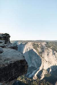 Chris   JeanAnn Taft Point Yosemite Engagement Session 001