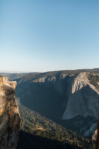 Chris   JeanAnn Taft Point Yosemite Engagement Session 002