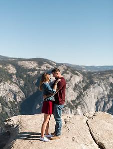 Chris   JeanAnn Taft Point Yosemite Engagement Session 009