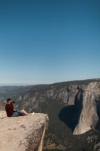 Chris   JeanAnn Taft Point Yosemite Engagement Session 022