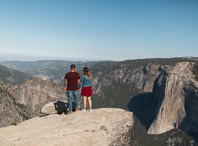 Chris   JeanAnn Taft Point Yosemite Engagement Session 011
