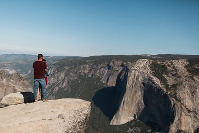 Chris   JeanAnn Taft Point Yosemite Engagement Session 014