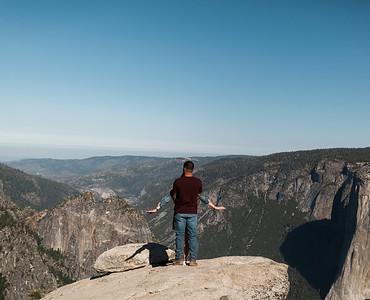 Chris   JeanAnn Taft Point Yosemite Engagement Session 013