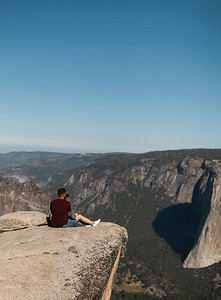 Chris   JeanAnn Taft Point Yosemite Engagement Session 016