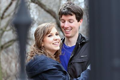 Christine Bernier and Tyler Wright