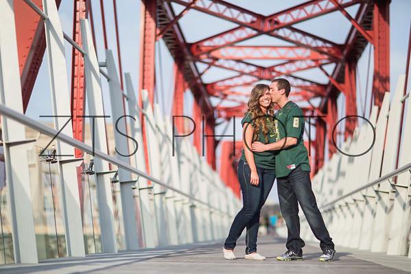Courtney + Jordan Engaged