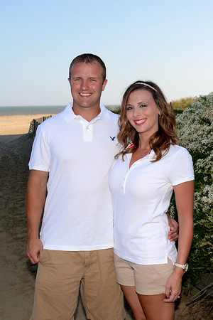 Danielle & Matt Beach Engagement 9-2-14