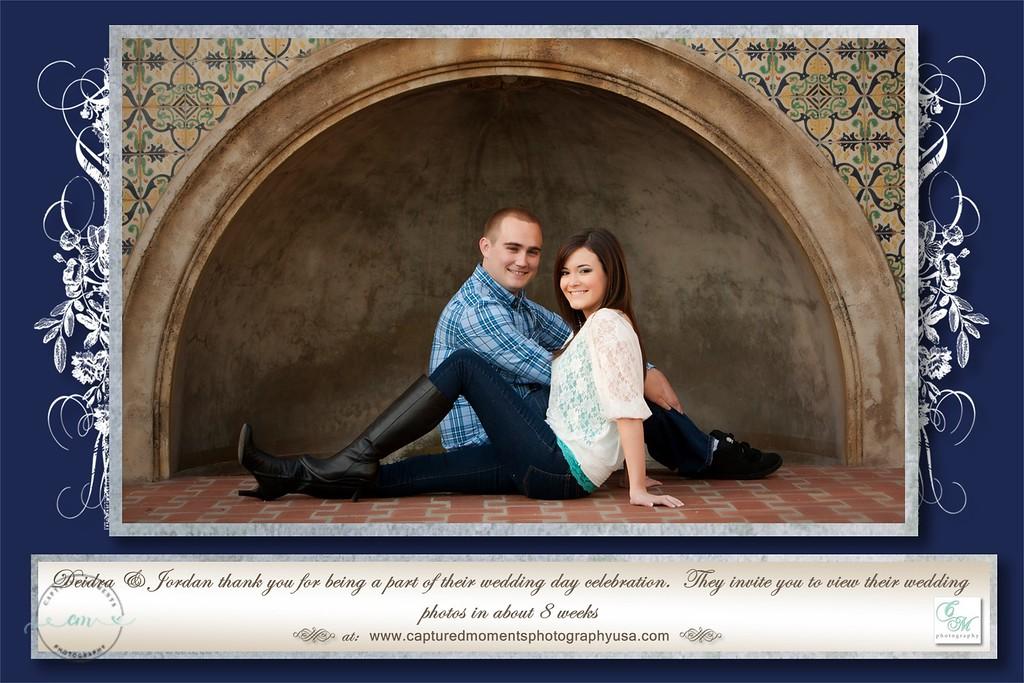 Deidra & Jordan -  Photo Cards 1