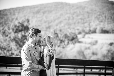 Elaine and Dalton's Engagement Session at King Family Vineyard