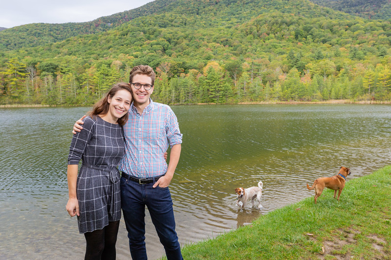 Fall Engagement Photography Southern VT-8