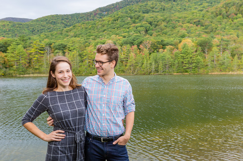 Fall Engagement Photography Southern VT-10