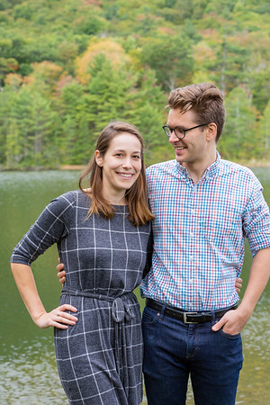 Fall Engagement Photography Southern VT-6