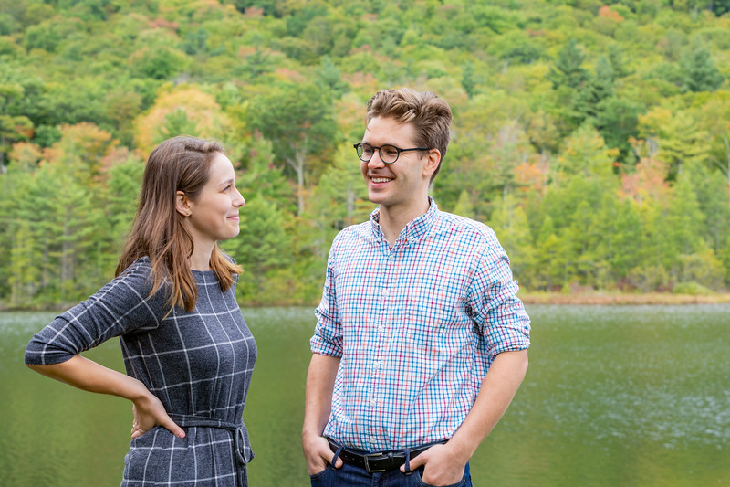 Fall Engagement Photography Southern VT-7