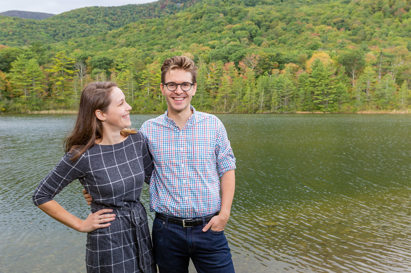 Fall Engagement Photography Southern VT-11