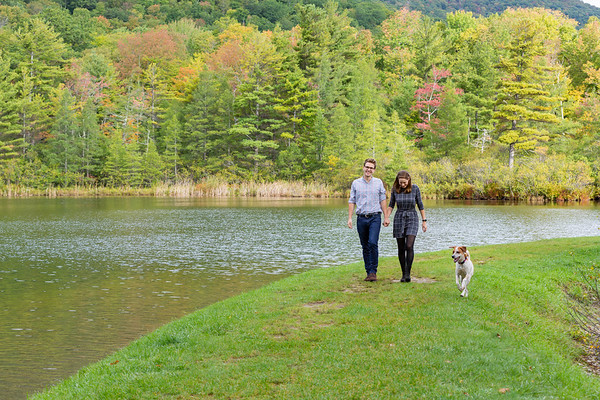 Fall Engagement Photography Southern VT-14