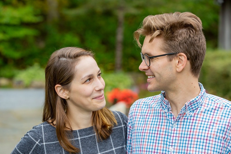 Fall Engagement Photography Southern VT-19