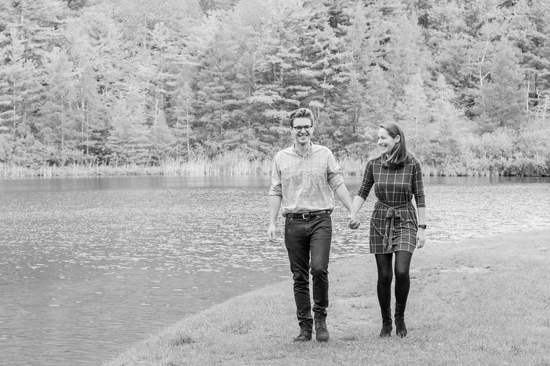 Fall Engagement Photography Southern VT-17