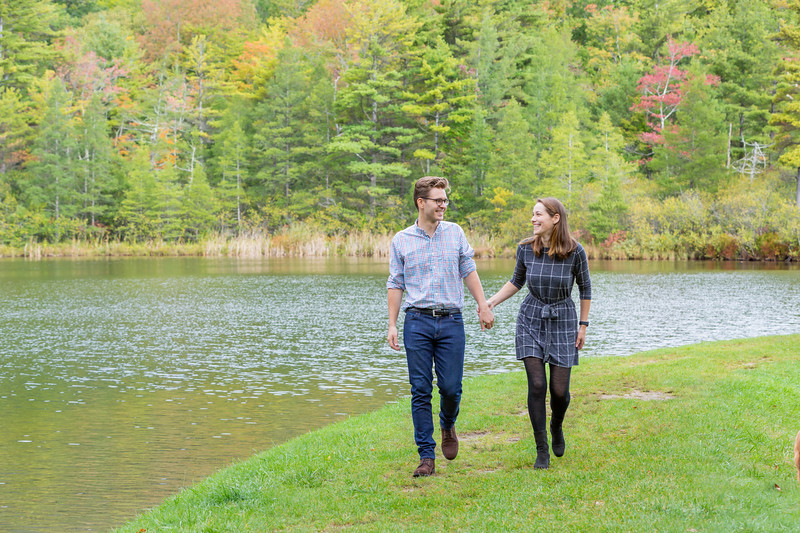 Fall Engagement Photography Southern VT-16