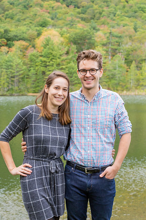 Fall Engagement Photography Southern VT-5