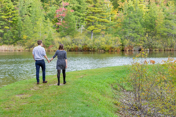 Fall Engagement Photography Southern VT-13