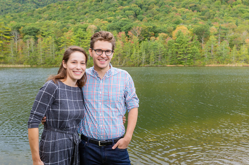 Fall Engagement Photography Southern VT-9