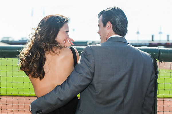 Evy and James' Engagement at AT&T Park