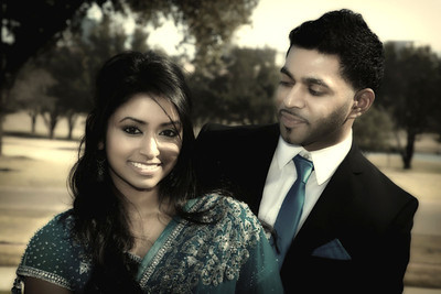 Spencer & Asha engagement