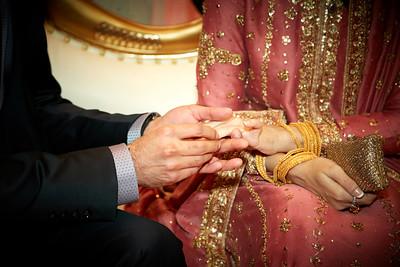 Ghazanfar & Samar Engagement
