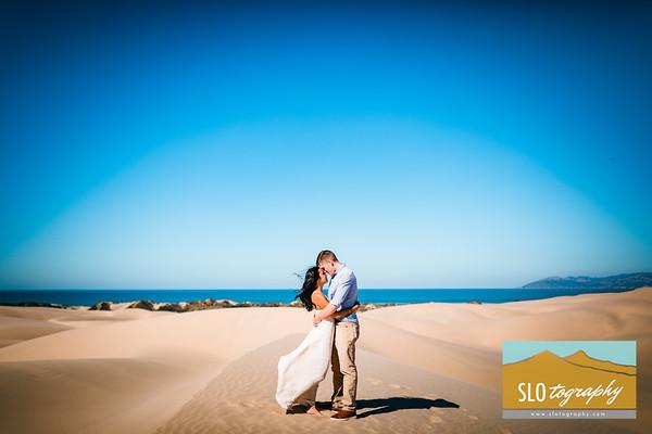 Gladys+Colin ~ Oceano Dunes Engagement!