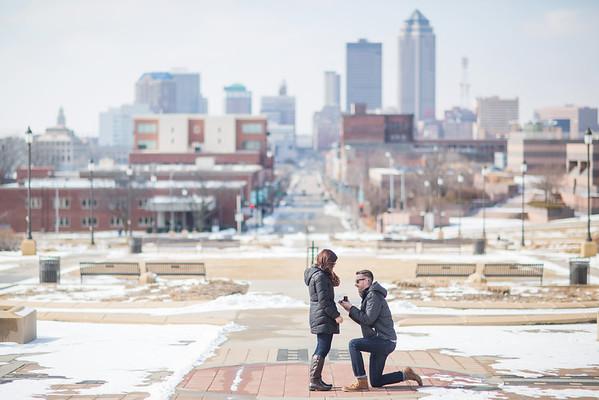 Griffin + Alyssa Proposal